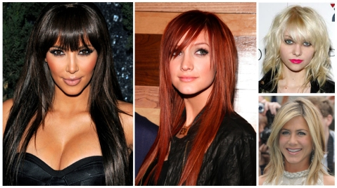 Bangs & Face Framing Layers for a fresh new look!